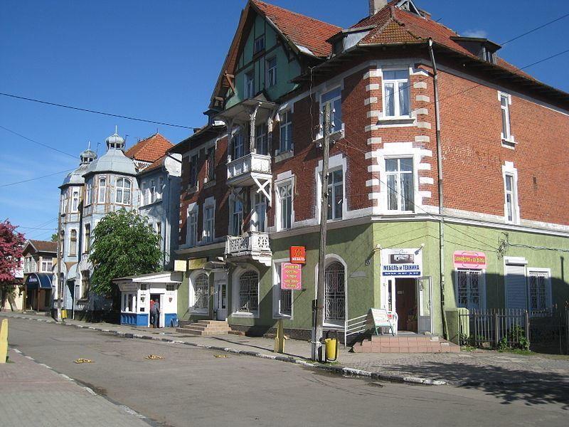 Смотреть красивая архитектура в городе Зеленоградск Калининградской области