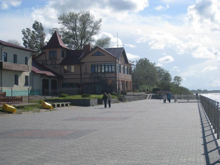 Набережная города Зеленоградск