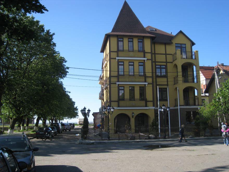 Смотреть красивое фото города Зеленоградск