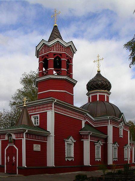 Церковь Святого Георгия в городе Ивантеевка Московской области