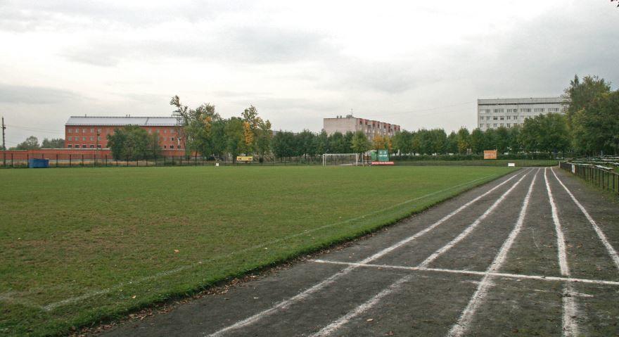 Стадион Труд в Ивантеевке Московской области