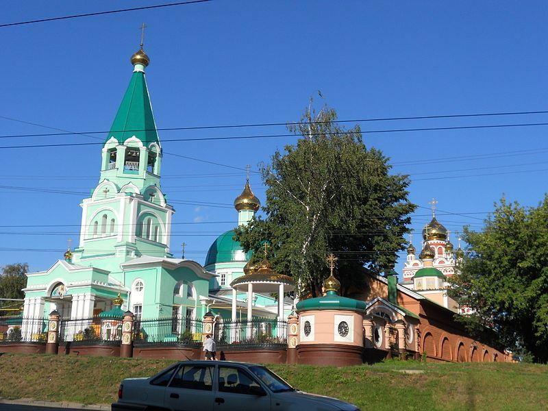 Собор Святой Троицы в городе Ижевск