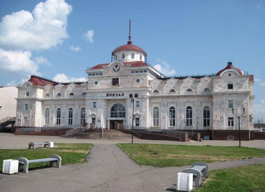 Железнодорожный вокзал город Ижевск