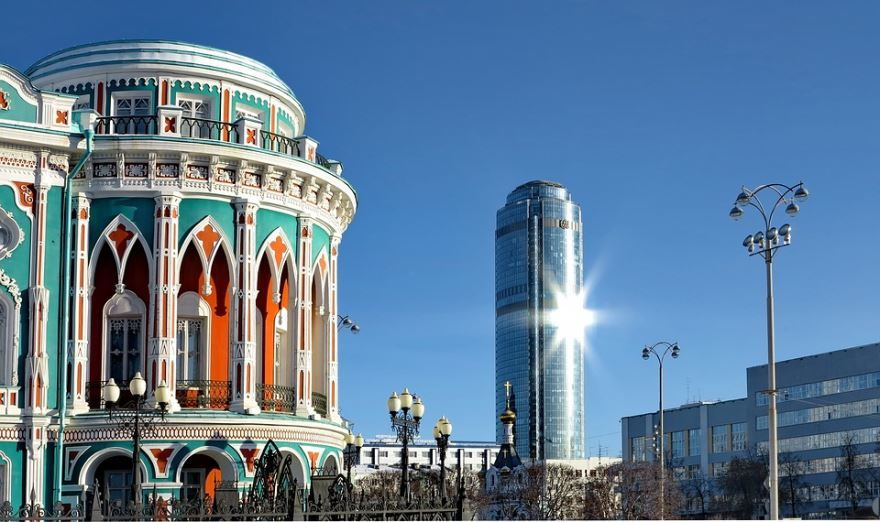 Екатеринбург - один из самых красивых городов России