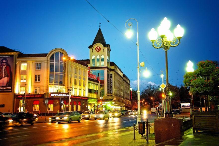 Калининград - один из красивых городов России