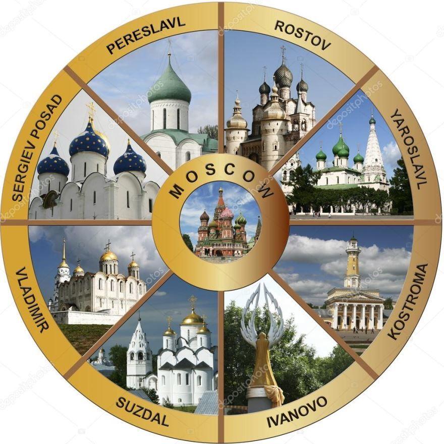 Золотое кольцо России, путешествия