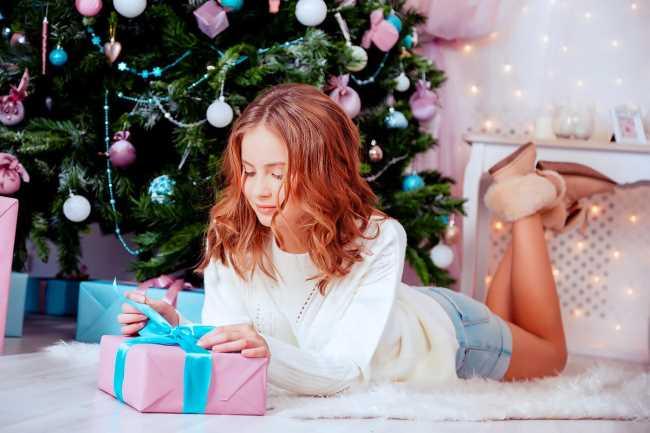 Новогоднее девушки 2019