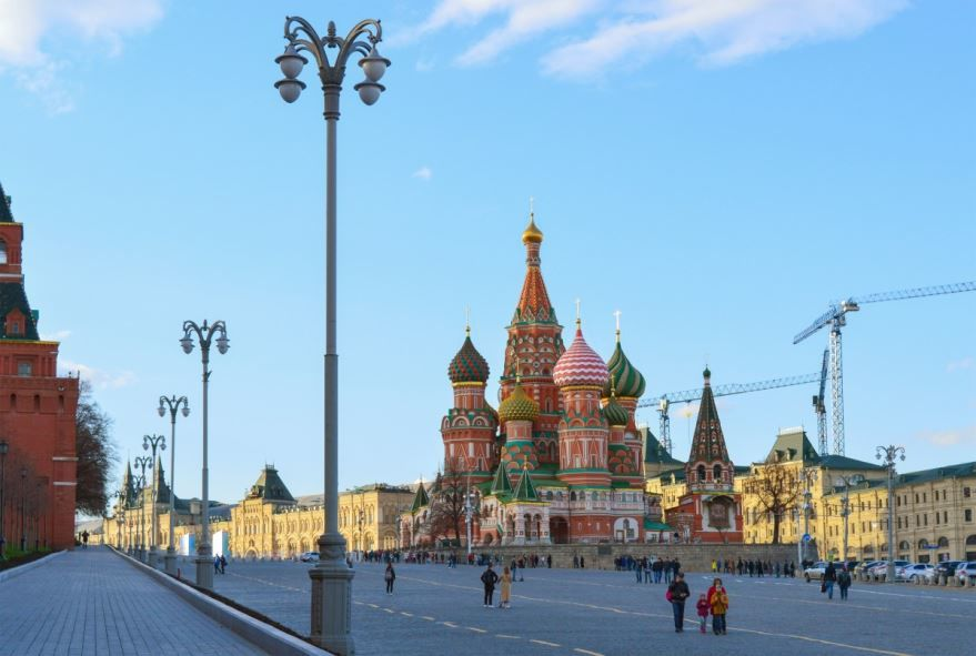 Фото города золотого кольца России Москвы
