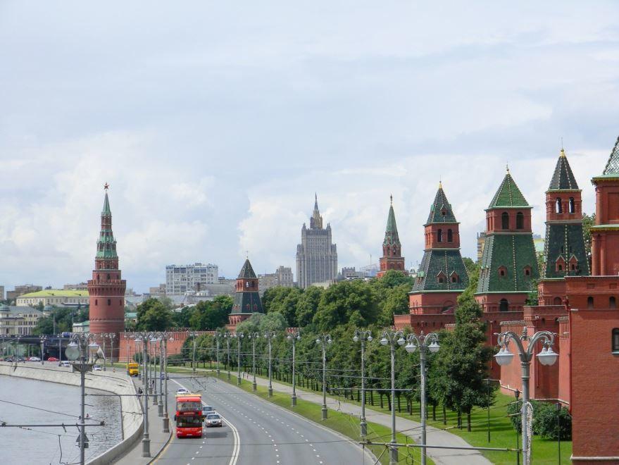 Фото красивого города России - Москвы