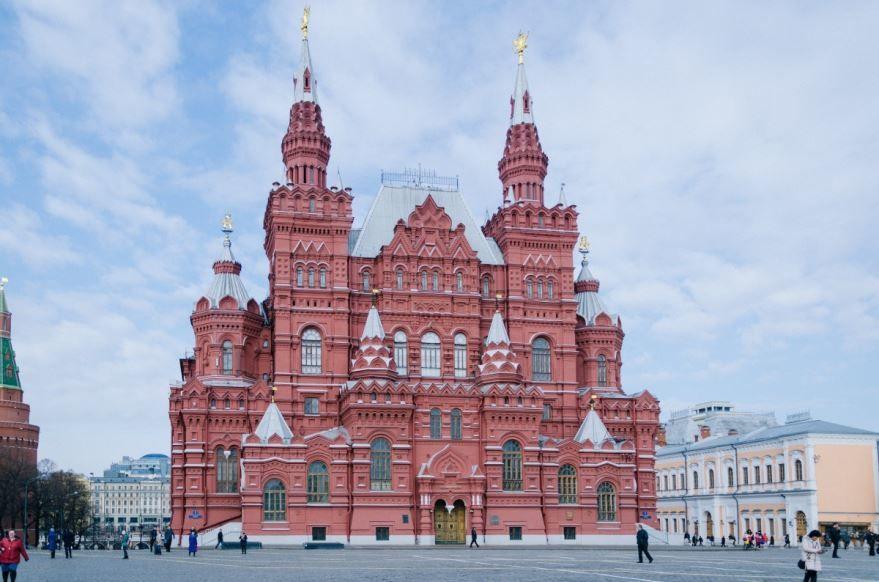 Главный город России - Москва