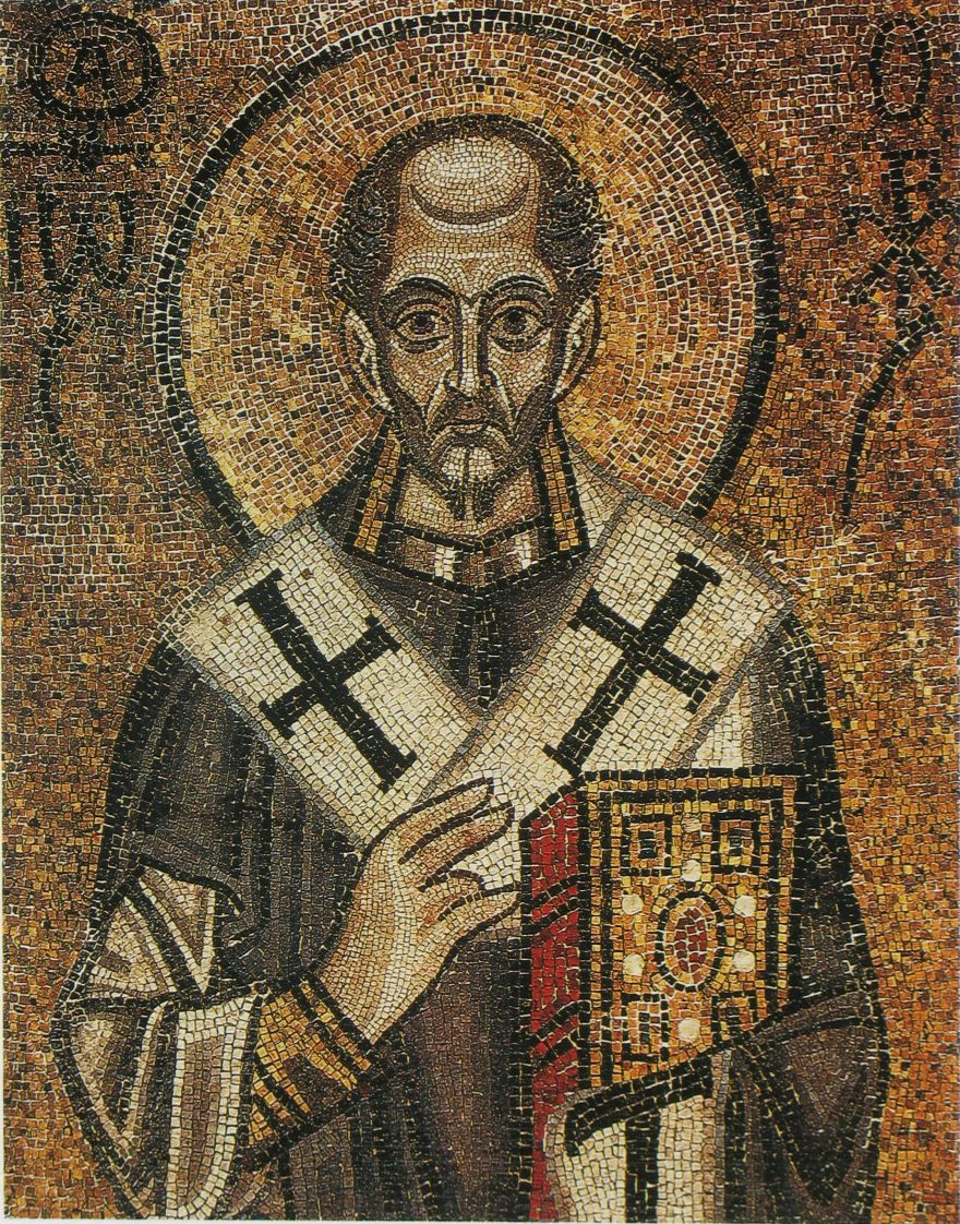 Иоанн Златоуст Софийский собор 11 век
