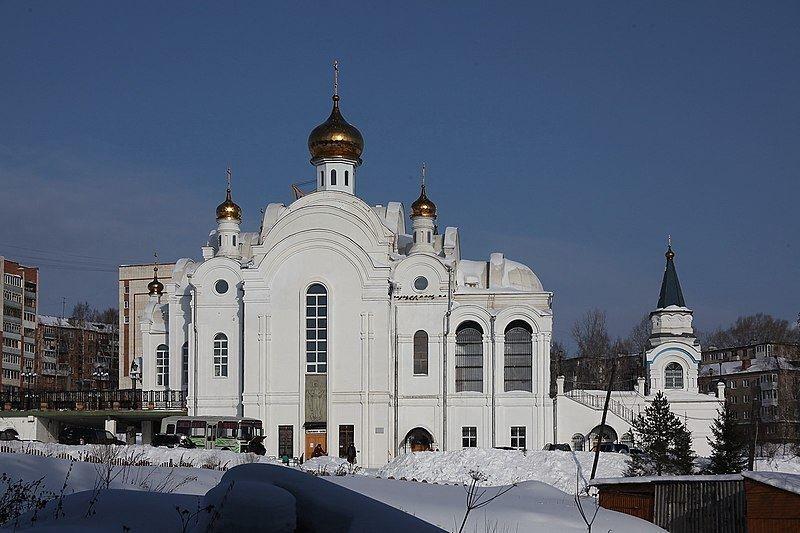 Кафедральный собор Серафима Саровского город Златоуст Челябинской области