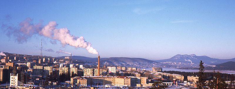 Скачать онлайн бесплатно красивую панораму города Златоуст в хорошем качестве