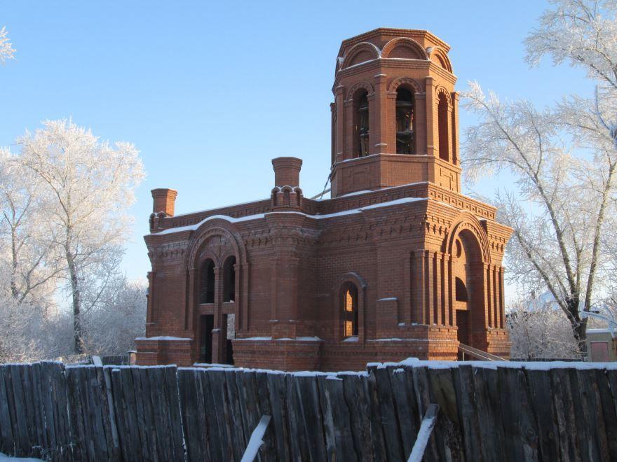 Церковь Пантелеимона Целителя город Ирбит Свердловская область