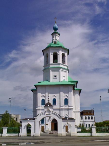 Богоявленский собор город Ишим Тюменская область