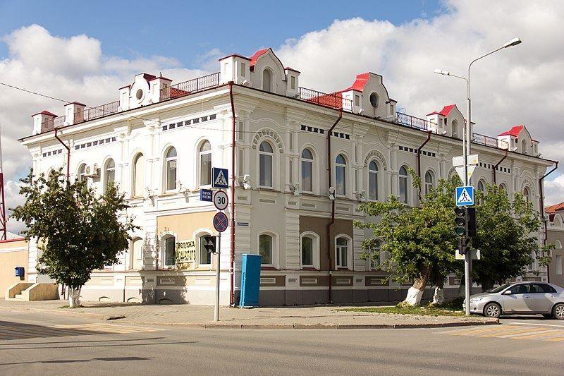 Здание почты в городе Ишим
