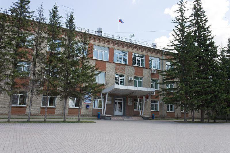 Здание администрации города Искитим 2019
