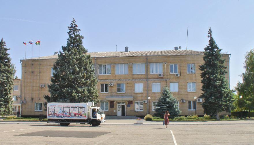 Здание администрации города Зерноград Ростовская область
