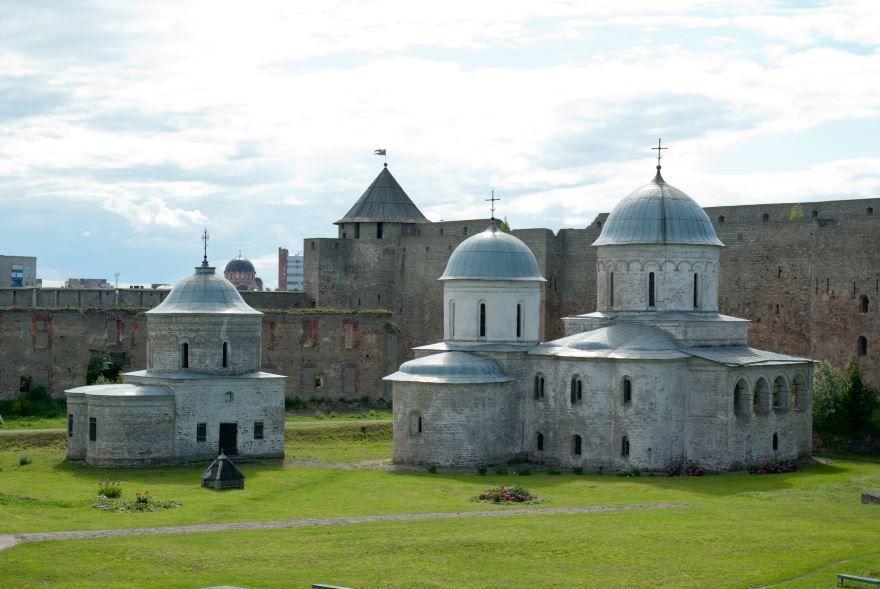 Крепость в городе Ивангород