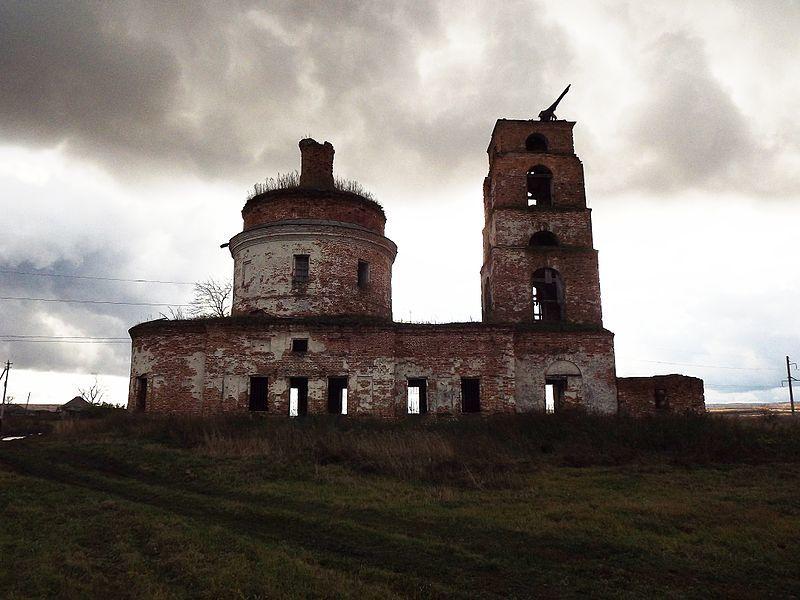 Церковь Архангеля Михаила город Инза Ульяновская область