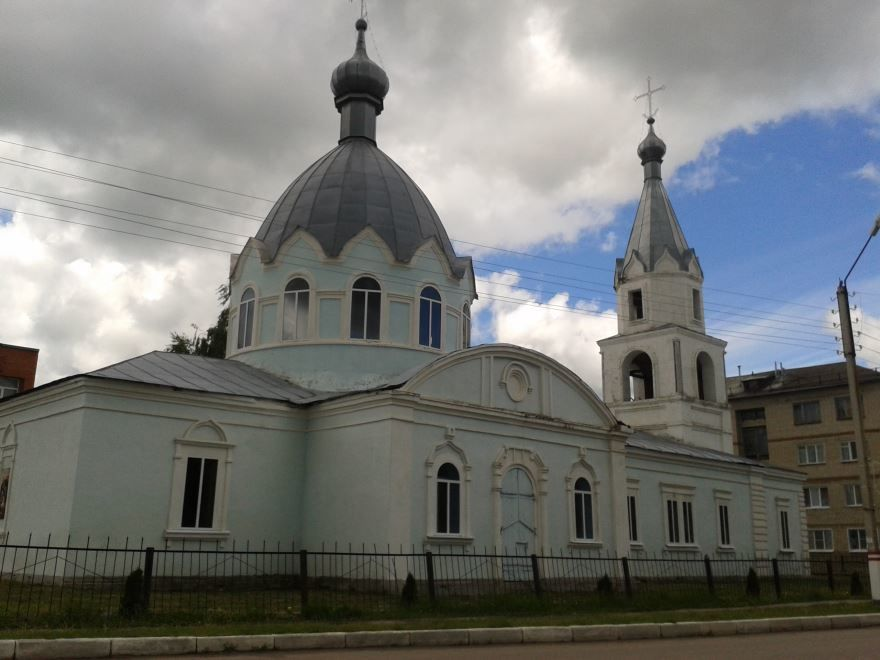 Христорождественская церковь город Инсар