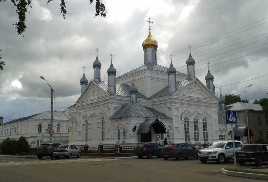 Свято-Ольгинский женский монастырь город Инсар
