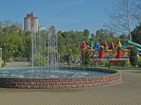 Скачать онлайн бесплатно красивое фото фонтан город Иваново