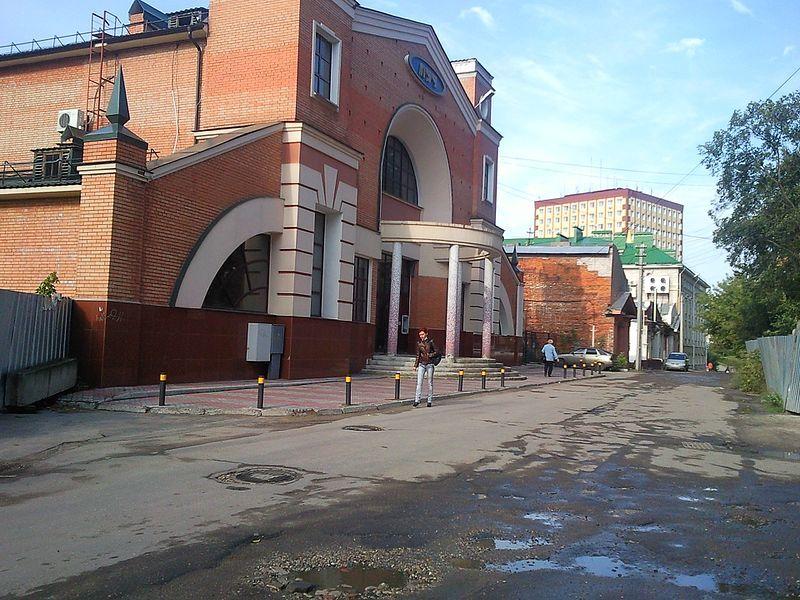 Красногвардейская улица город Иваново 2018