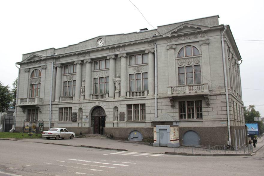 Музей промышленности и искусства в городе Иваново
