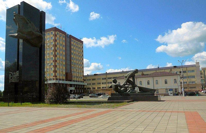 Площадь Революции город Иваново
