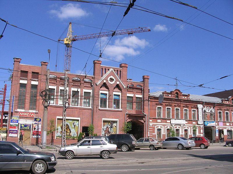Смотреть фото красивого здания на проспекте Ленина город Иваново