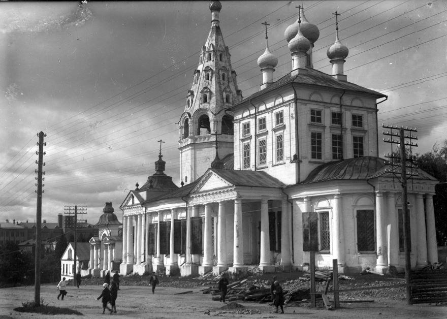 Троицкий собор город Иваново