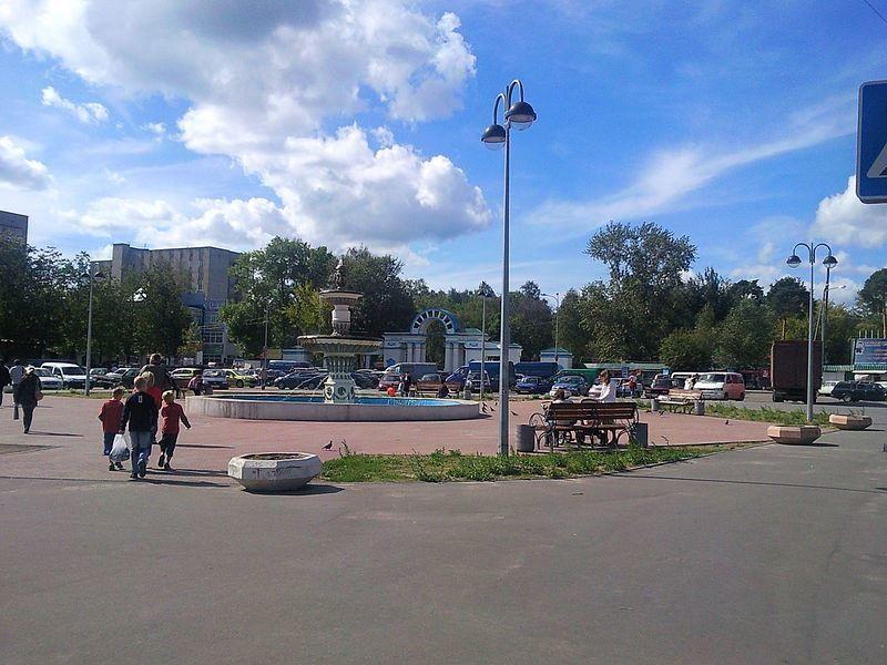 Вход в парк Степанова город Иваново