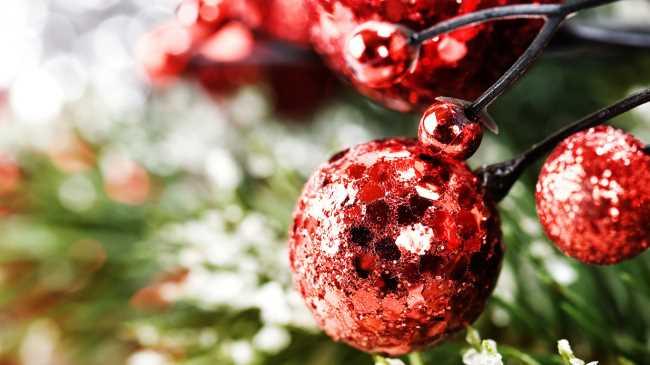 Новогодние шары на елку своими руками