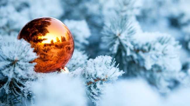 Новогодний шар игрушка на елку