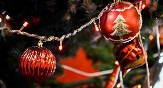 Новогодние шары на елке картинки
