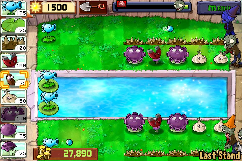 Скачать бесплатно растения против зомби