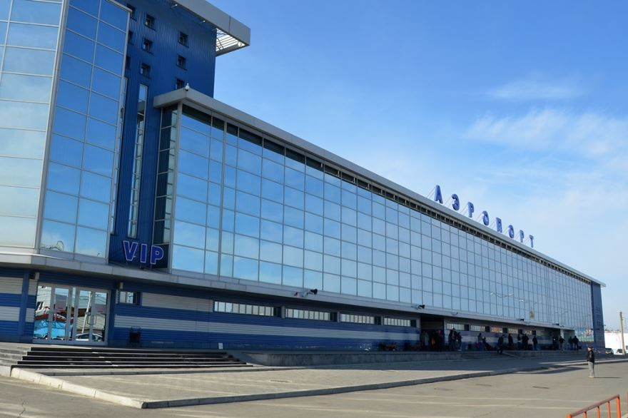 Скачать онлайн бесплатно красивое фото Аэропорт в городе Иркутск в хорошем качестве