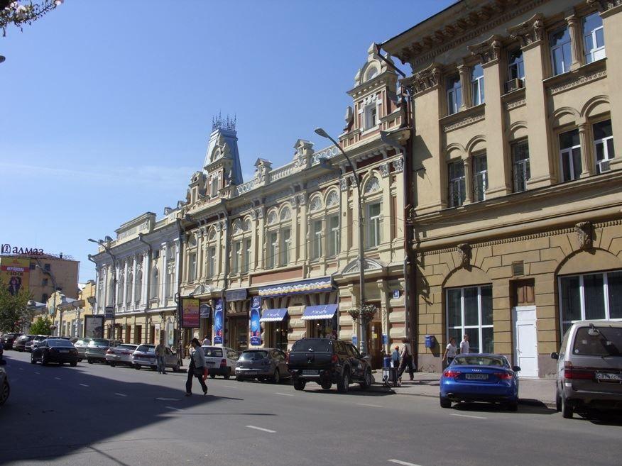 Смотреть красивые улицы города Иркутск бесплатно в хорошем качестве