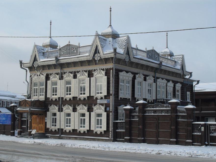 Дом Шастиных город Иркутск