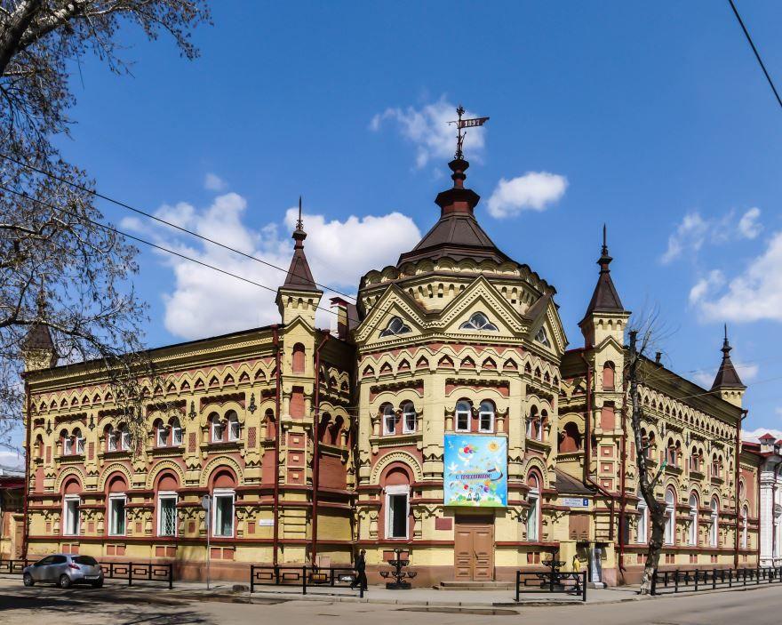 Дом Второвых в городе Иркутск