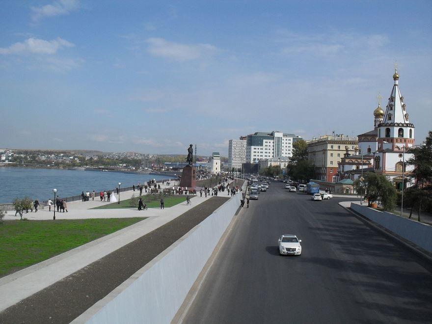 Нижняя Набережная город Иркутск