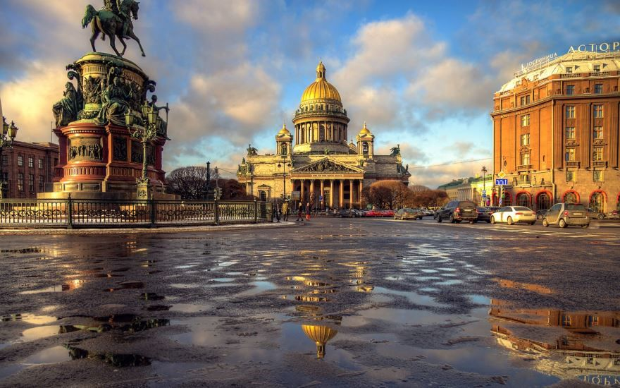 Скачать онлайн бесплатно красивые достопримечательности города Санкт-Петербург 2019