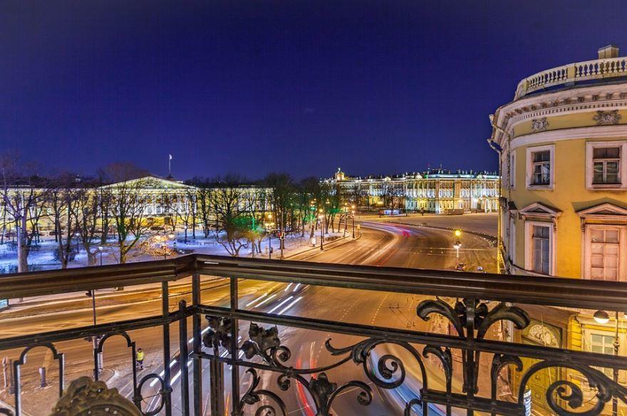 Скачать бесплатно красивый вид города Санкт-Петербург