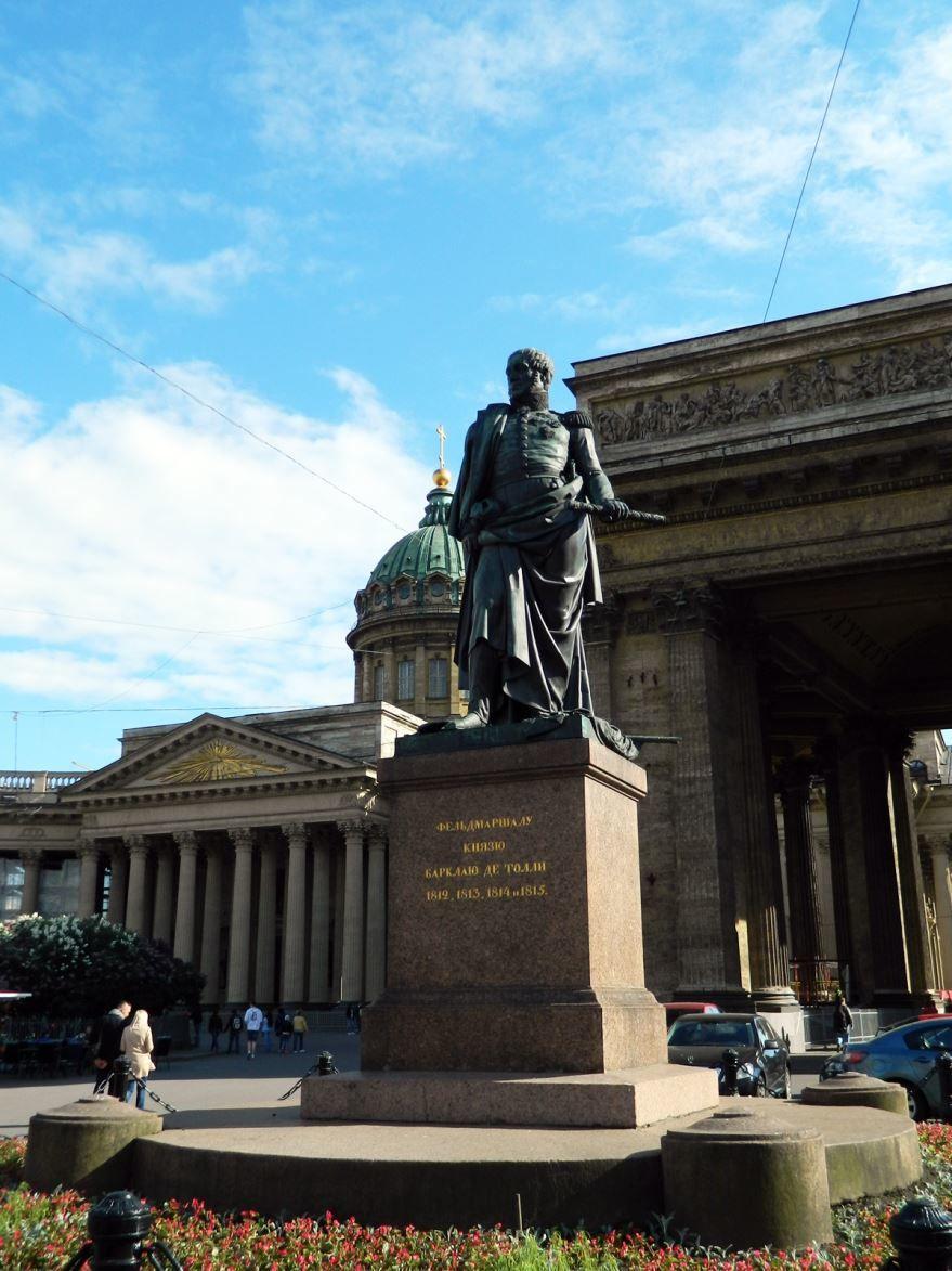 Памятник Барклаю де Толли город Санкт-Петербург