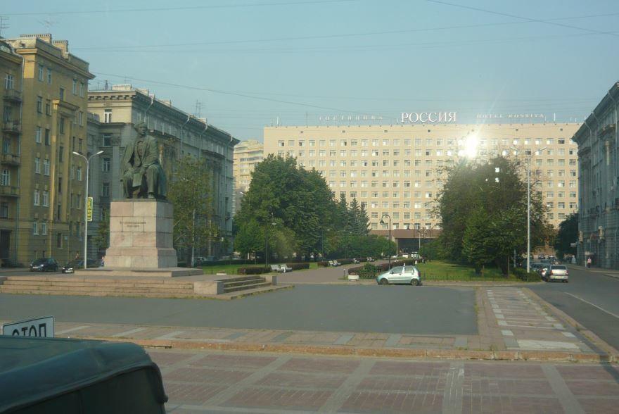 Площадь Чернышевского город Санкт-Петербург