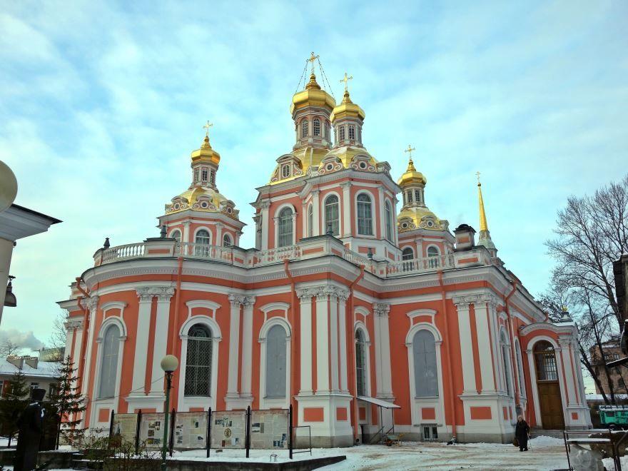 Смотреть красивые районы города Санкт-Петербург Лиговский проспект Крестовоздвиженский казачий собор