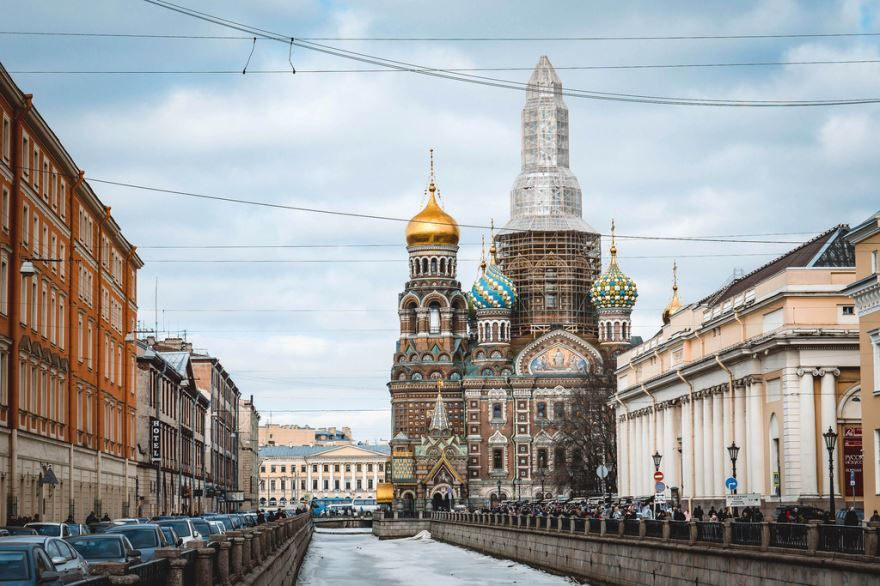 Спас на крови в городе Санкт-Петербург