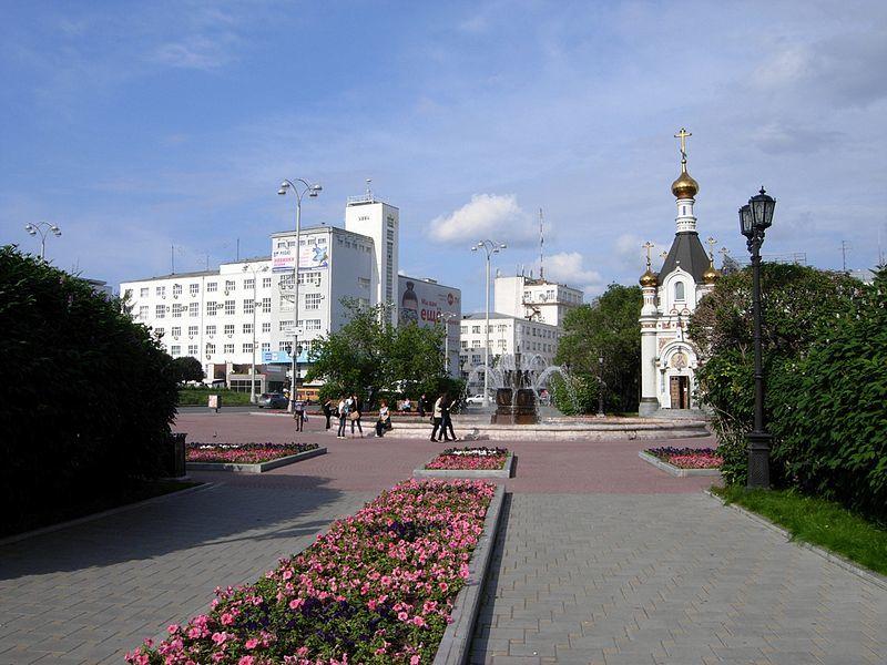 Смотреть лучшее фото Площадь труда в городе Екатеринбург