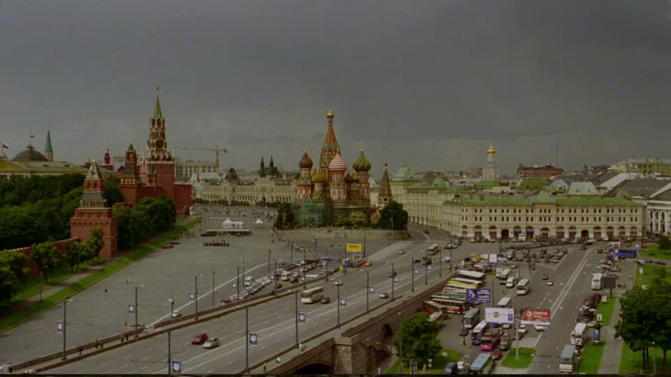 Смотреть красивый вид города Москва в хорошем качестве